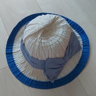 ハッカキッズ(hakka kids)の【新品】ハッカキッズ 帽子 52cm(帽子)