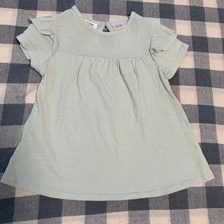 ザラ(ZARA)のZARABABY 袖フリル半袖Tシャツ(Tシャツ/カットソー)