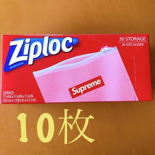 シュプリーム(Supreme)のSupreme Ziploc ジップロック 10枚(収納/キッチン雑貨)