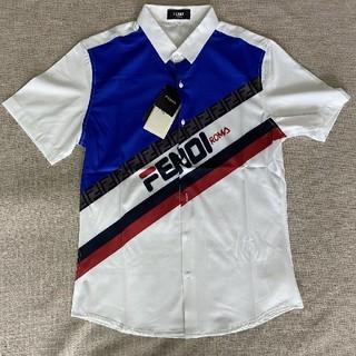 フェンディ(FENDI)のフェンディFENDI  Tシャツ ワイシャツ L(Tシャツ/カットソー(半袖/袖なし))