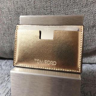 トムフォード(TOM FORD)のTom ford トムフォード ノベルティ ミラー カードケース  新品(ミラー)