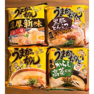 ハウスショクヒン(ハウス食品)の【九州限定】うまかっちゃん4種食べ比べ(インスタント食品)