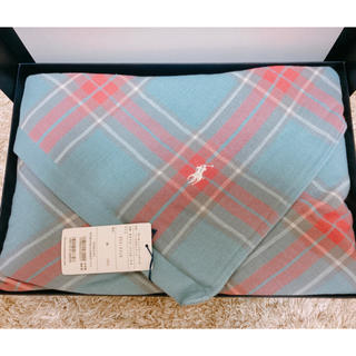 ラルフローレン(Ralph Lauren)の新品タグ付き☆ラルフローレン タオルケット ブランケット(その他)
