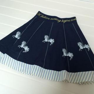 リズリサ(LIZ LISA)のLIZLISA メルヘン柄スカート(ミニスカート)