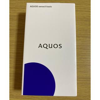 アクオス(AQUOS)の【つーやん様専用】SHARP AQUOS sense3 PINK(スマートフォン本体)