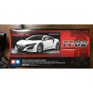 ニッサン(日産)のタミヤ TT02 NSX コントローラー付 (ホビーラジコン)