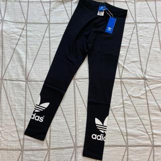 アディダス(adidas)の【UK10】adidas originalsブラックレギンス(レギンス/スパッツ)