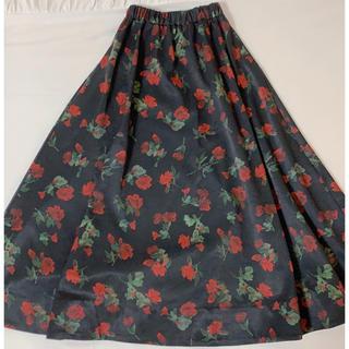リルリリー(lilLilly)のlilLilly ボリュームスカート(ひざ丈スカート)
