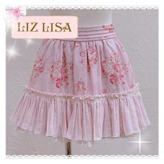 リズリサ(LIZ LISA)のLIZ LISA ブーケリボン柄 スカパン(ミニスカート)
