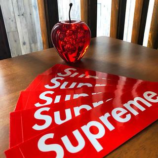 シュプリーム(Supreme)のSupreme ロゴステッカー 5枚セット(ステッカー)