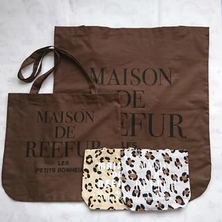 Maison de Reefur - メゾンドリーファー ショッパー4枚セット エコバッグ 梨花 REEFUR