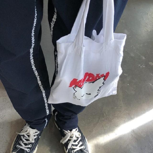 holiday(ホリデイ)のholiday NEKO BAG 白 レディースのバッグ(トートバッグ)の商品写真