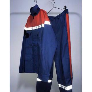 コムデギャルソン(COMME des GARCONS)のdead stock vintage ユーロワーク リフレクター 変形ジャケット(ミリタリージャケット)