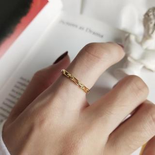 ミラオーウェン(Mila Owen)のsilver925 チェーンリング(リング(指輪))