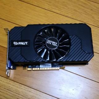 パイロット(PILOT)のGeforce GTX750Ti PAlIT nvidia(PCパーツ)