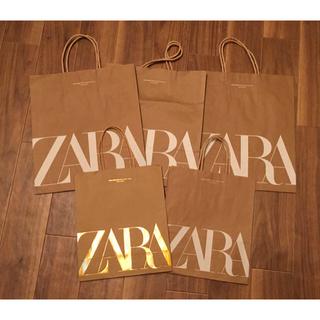 ザラ(ZARA)のZARA ザラ 紙袋 小2枚 中3枚(ショップ袋)