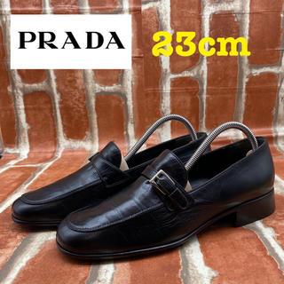 プラダ(PRADA)のPRADA プラダ ローファー 革靴(ローファー/革靴)