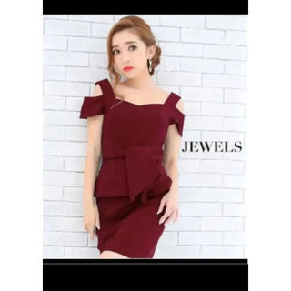 ジュエルズ(JEWELS)の新品jewels ペプラムキャバドレス(ミニドレス)