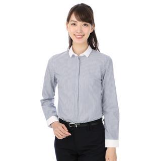アオヤマ(青山)の洋服の青山 レディスクレリックシャツ(シャツ/ブラウス(長袖/七分))