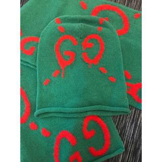 グッチ(Gucci)のGUCCI 帽子とマフラー(ハット)