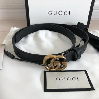Gucci - 【新品未使用】80cm グッチ GG レザー ベルト