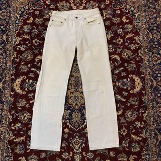 アレッジ(ALLEGE)のUSA vintage LEVI'S bleached white jeans(デニム/ジーンズ)