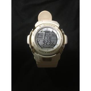 ジーショック(G-SHOCK)のCASIO G-SHOCK 白×金 G-7700V カシオ Gショックジャンク (腕時計(デジタル))