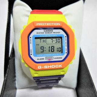 ジーショック(G-SHOCK)の送料無料G-SHOCK DW-5610DN-9JF サイケデリックマルチカラーズ(腕時計(デジタル))