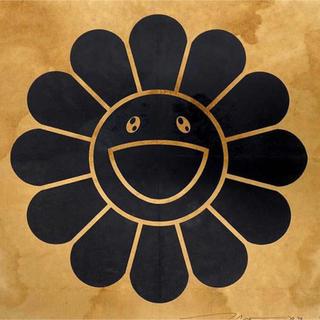 村上隆 版画 コーヒーブルース ブラック kaikaikiki フラワー(版画)
