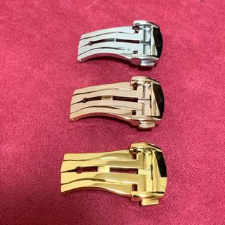 オメガ(OMEGA)のゴールド16mm★オメガタイプ高品質Dバックル★(腕時計(アナログ))