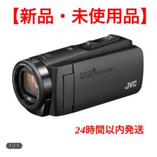 ケンウッド(KENWOOD)の【新品・未使用】Everio R GZ-RX680(マットブラック)(ビデオカメラ)