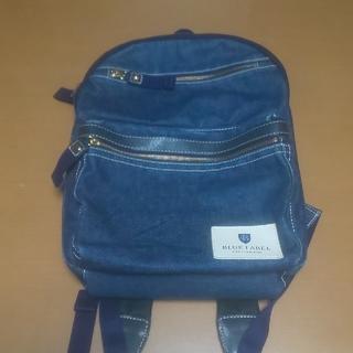 バーバリーブルーレーベル(BURBERRY BLUE LABEL)の310様専用 ブルーレーベルクレストブリッジ紺デニム地リュック(リュック/バックパック)