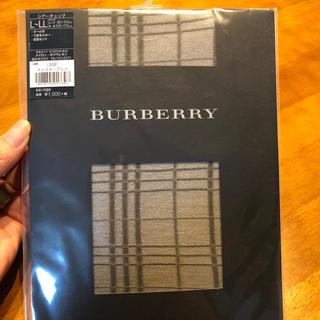 バーバリー(BURBERRY)のバーバリー  タイツ 未使用(タイツ/ストッキング)