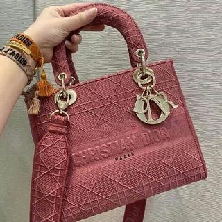 ディオール(Dior)の 極美品 Lady Dior カナージュ 2Way ハンドバッグ(ショルダーバッグ)