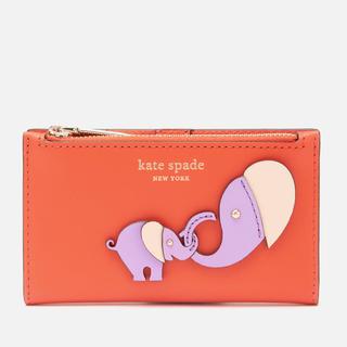 kate spade new york - 新品!ケイトスペード ゾウ コインケース、IDケースとカード入れ 送料込み