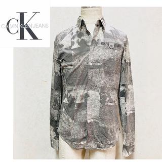 カルバンクライン(Calvin Klein)の【値下げ!】カルバンクライン  シャツ グラデーショングレー(シャツ)