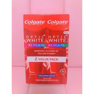 *Colgate OPTIC WHITE RENEWAL*(歯磨き粉)