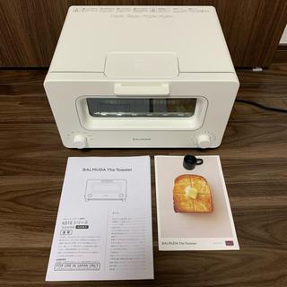 バルミューダ(BALMUDA)の美品 BALMUDA バルミューダ トースター ホワイト 2019年製(調理機器)