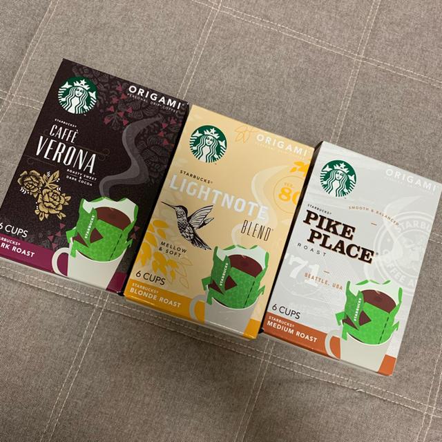 Starbucks Coffee(スターバックスコーヒー)のゆきゆき様専用 スターバックス オリガミ 18杯分 食品/飲料/酒の飲料(コーヒー)の商品写真