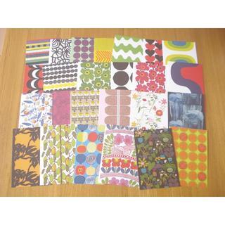 マリメッコ(marimekko)のmarimekko マリメッコ ポストカード 25枚セット■B 北欧 ウニッコ(印刷物)
