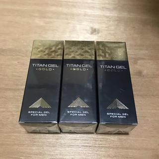 タイタンジェルゴールド TITAN GEL GOLD 3個(その他)