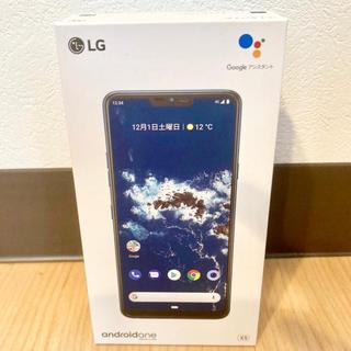 LG Electronics - 美品 SIMフリー Ymobile  androidone X5 ブルー