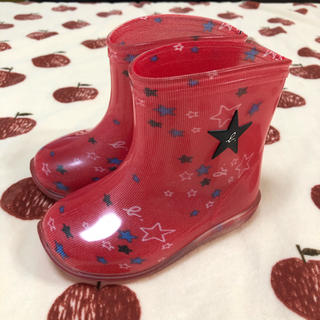 アニエスベー(agnes b.)の新品⭐︎アニエスb  レインブーツ 長靴 13.0cm(長靴/レインシューズ)