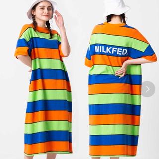 ミルクフェド(MILKFED.)のミルクフェド ワンピース(ロングワンピース/マキシワンピース)