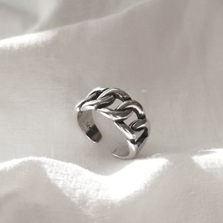 ビューティアンドユースユナイテッドアローズ(BEAUTY&YOUTH UNITED ARROWS)の【 再入荷 】925 wide chain ring *(リング(指輪))