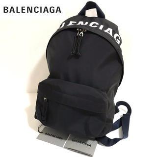 Balenciaga - 【正規品】未使用品✨バレンシアガ ウィール ロゴ バックパック