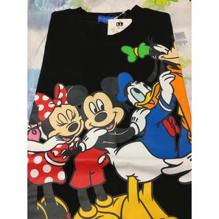 ディズニー(Disney)のベスティーズ Tシャツ ブラック LLサイズ ディズニーリゾート(キャラクターグッズ)