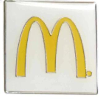 マクドナルド - McDonald's PIN マクドナルド ピン バッジ 新品 26