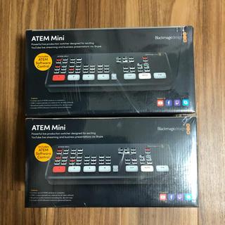 ATEM mini Blackmagicdesign 2個セット 国内正規品