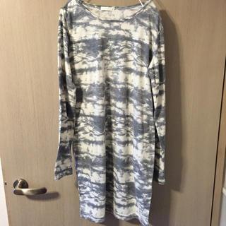 ジーユー(GU)のGU ロンT ワンピース(Tシャツ(長袖/七分))